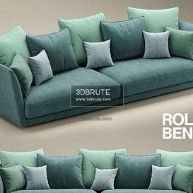 ROLF BENZ TONDO1 sofa