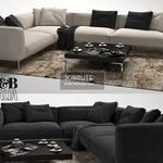 B&B italya sofa 392