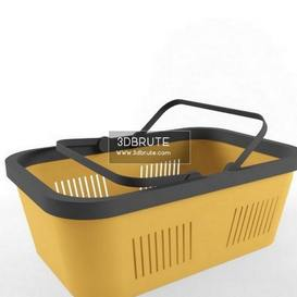 storage basket 3dmodel