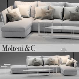 molteni HOLIDAY1 sofa