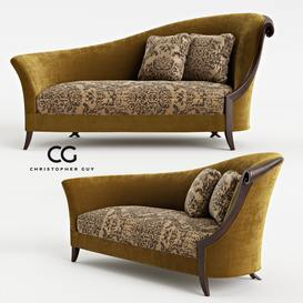 CHRISTOPHER GUY_Chandon Droite 60-0247 (200x103x100) Ottoman 59 - 3dsmax - Vray or Corona