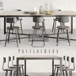 pottery barn loft Concept Table & chair 425