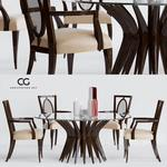 CG christopher guy Garbo Table & chair 441