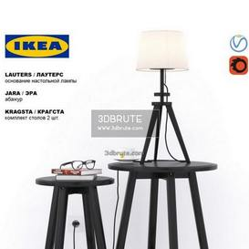 Ikea set KRAGSTA