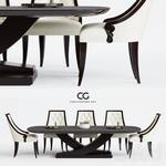 CG christopher guy Table & chair 448