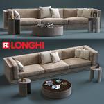 Longhi Mason 3Seat sofa 458
