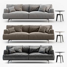 TRIBECA  TBDI240 3ds sofa