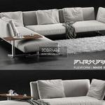 Flexform Evergreen sofa 483