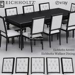 Eichholtz Anvers  and Wallace Dining Table & chair 455