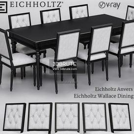 Eichholtz Anvers  and Wallace Dining