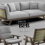 B&B Italia Gio sofa 489