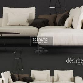 Savoye   corona sofa