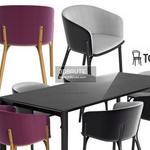 Ton arm split Table & chair 469