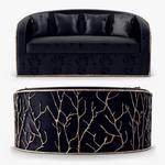 Koket sofa 519