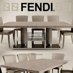 FENDI CASA Table & chair 238