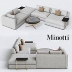 Minotti  hamilton sofa 522