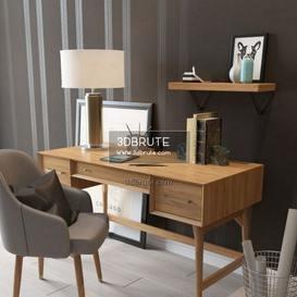 3dbrute 3dmodel Furniture And Decor 3d Max Blocks