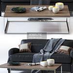Metropole Sofa Table & chair 489