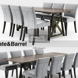 Crate&Barrel  and
