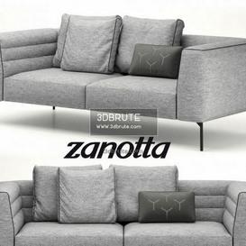 zanotta botero sofa