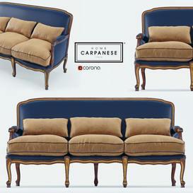 Carpanese 6539   corona sofa