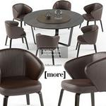 Mudi arm set Table & chair 503