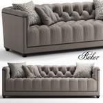 baker PARIS LOVESEAT sofa 554