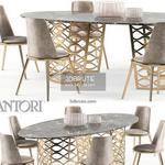 Isidoro Aurora set Table & chair 505