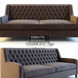 Sofa 3dmodel Download Modern Classic Piece Of Couch Like Sitting