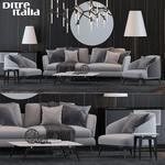 Ditre italya sofa sofa 580