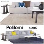 Poliform Soho 1 sofa 601