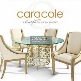 Caracole dining set