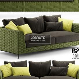 bebitalia Ray Outdoor Natural sofa