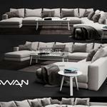 Swan Hills sofa 606