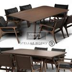 Ren dinning furniture Table & chair 524