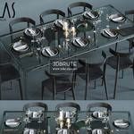 glas italia  corona 2012 Table & chair 532