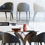 Cortina Cattelan italia STEEPLE BRIDGE Roche bobois Table & chair 535