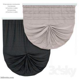 Curtain 3dmodel 3dsmax