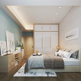 Bed room Chinese style Extension 2018 174