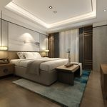 Bed room Chinese style Extension 2018 186