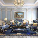 Sofa classic 3dmodel 3dsmax 1