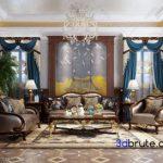 Sofa classic 3dmodel 3dsmax 3