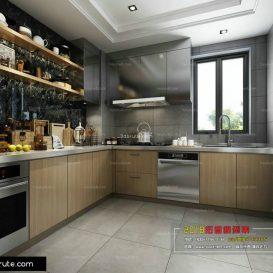 Charmant Kitchen Room   3dbrute  Download Free  3d Model Furniture