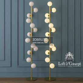 torsher bubble stik cold Floor lamp 202 3dmodel  3dsmax vray
