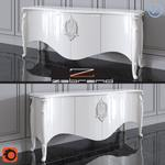 Emily Console Corona Christopher Guy Sideboard 120 3dmodel 3dbrute