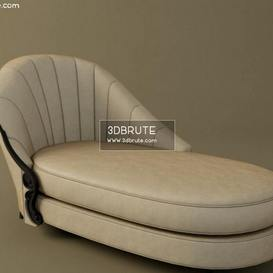 Chaise Longue 60-0117 Christopher Guy other soft seating 13 3dmodel 3dbrute