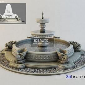 Classic Fountain 3dmodel 3dsmax