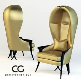 Morgins Christopher Guy Armchair 122 3dmodel 3dbrute