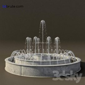 Fountain 3dmodel