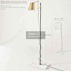 Floor lamp 203 3dmodel  3dsmax vray